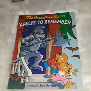 Vintage The Berenstain Bears Knight to Remember